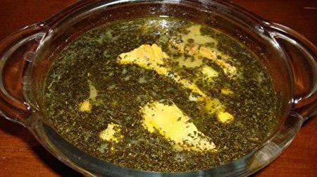 طرز تهیه آبگوشت گوجه سبز
