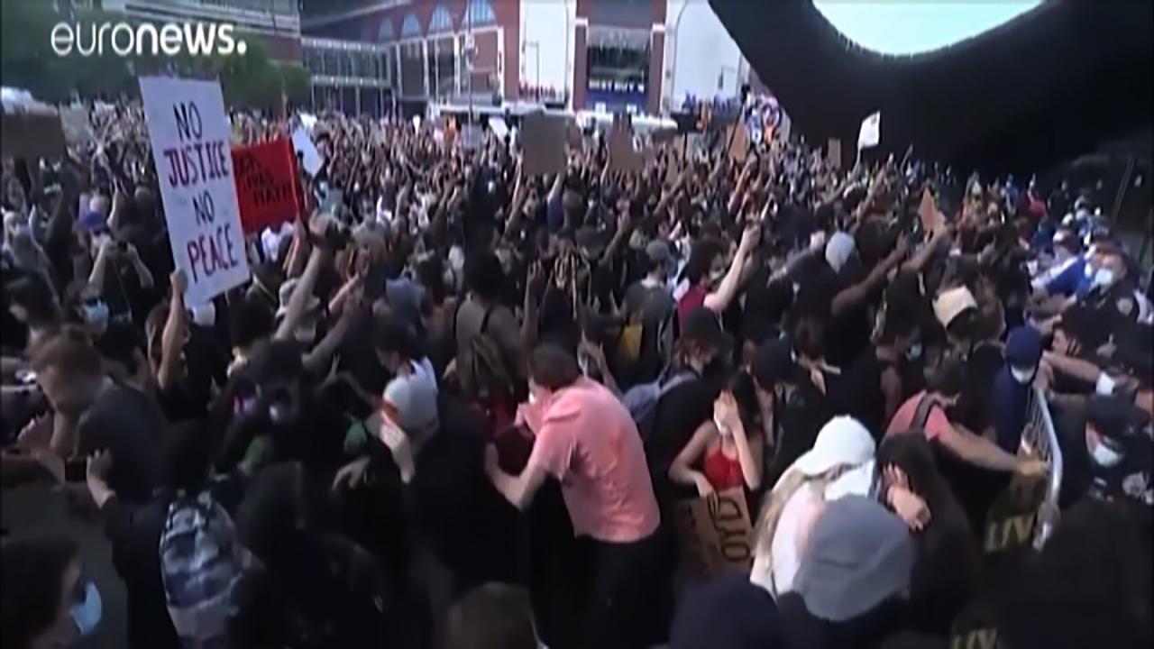 اعتراضات سراسری در آمریکا