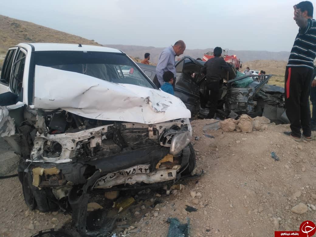 ۴ کشته و زخمی در محور خنج به لامرد