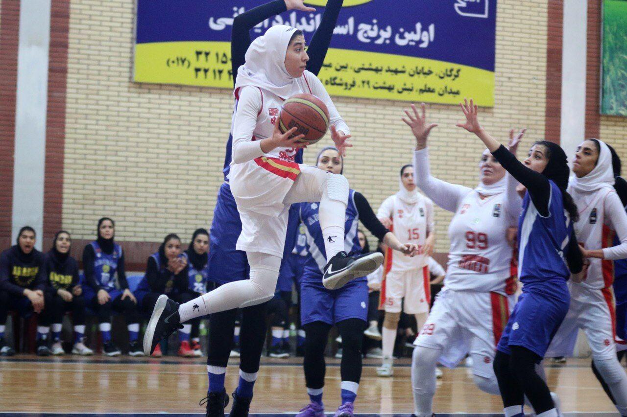 معرفی قهرمان لیگ برتر بسکتبال بانوان در انتظار مهر تایید فدراسیون