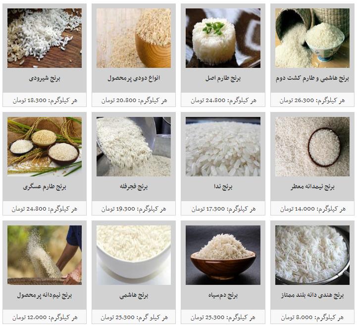 هر کیلو برنج ایرانی در میادین میوه و تره بار چقدر است؟