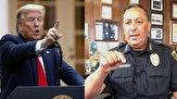 رئیس پلیس هیوستون خطاب به ترامپ: اگر سخن سازندهای نداری دهانت را ببند