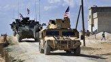 ممانعت از عبور کاروان نظامی آمریکا در منطقه ابوراسین سوریه