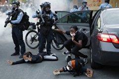 هفتهِ پر خشونت پلیس آمریکا + فیلم