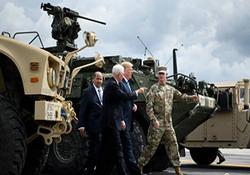 ترامپ برای سرکوب معترضان دست به دامان ارتش شد + فیلم