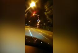 عاقبت لایو گرفتن هنگام رانندگی + فیلم