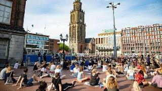 اعتراض مردم هلند به نژادپرستی در آمریکا