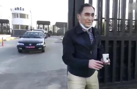 اولین ویدئو از بازگشت سیروس عسگری به کشور