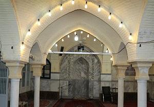 مسجد تاریخی ابوطالب قم مرمت شد