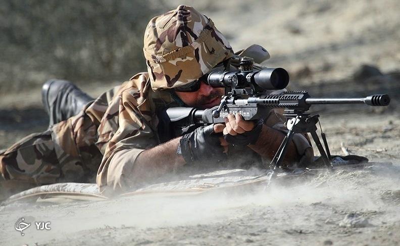 تفنگ حیدر، قاتل خودروهای انتحاری داعش + تصاویر
