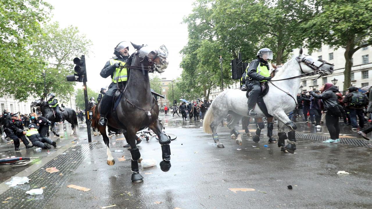 اعتراضات در لندن