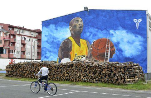 تکمیل بزرگترین نقاشی دیواری برایانت در اروپا