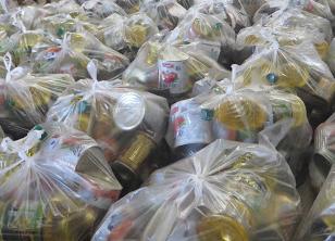توزیع ۱۵۰ بسته غذایی در تبریز