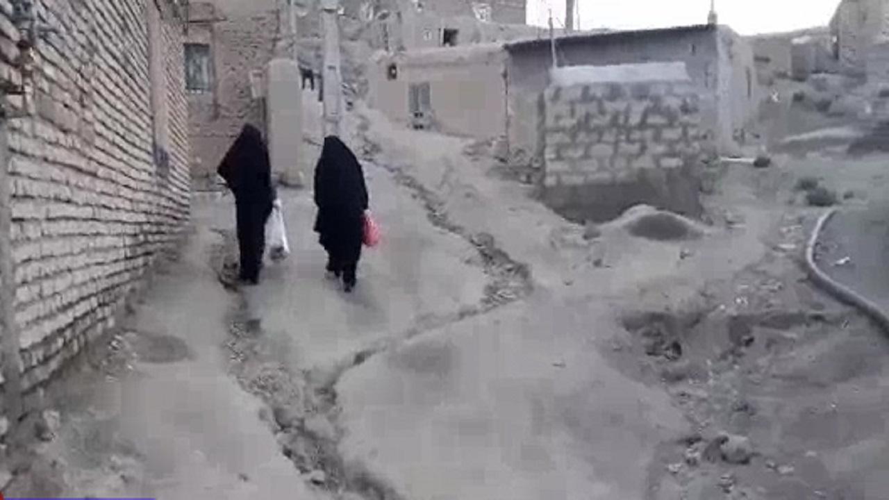 رزمایش کمکهای مومنانه توسط بانوان جهادگر در صالحآباد + فیلم