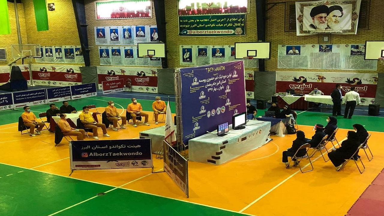 برگزاری هفته سوم مسابقات مجازی لیگ بین المللی پومسه و هانمادانگ