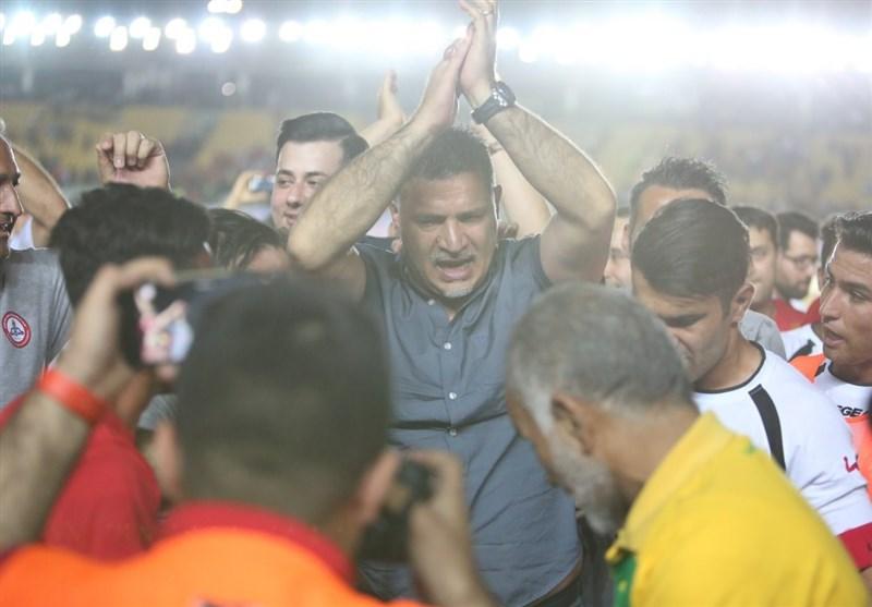 ۳ تصویر به یادماندنی از خرمشهر/ اشک و لبخند استقلالیها و شهریار در فینال جام حذفی