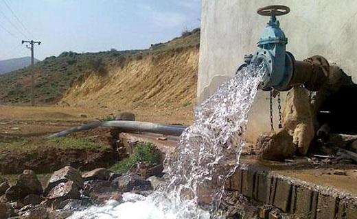 افزایش فشار و حجم آب در بخش غیزانیه