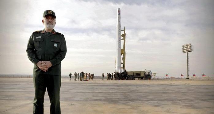 اسکورت از فضا؛ شاهکار جدید نیروی هوافضای سپاه پاسداران