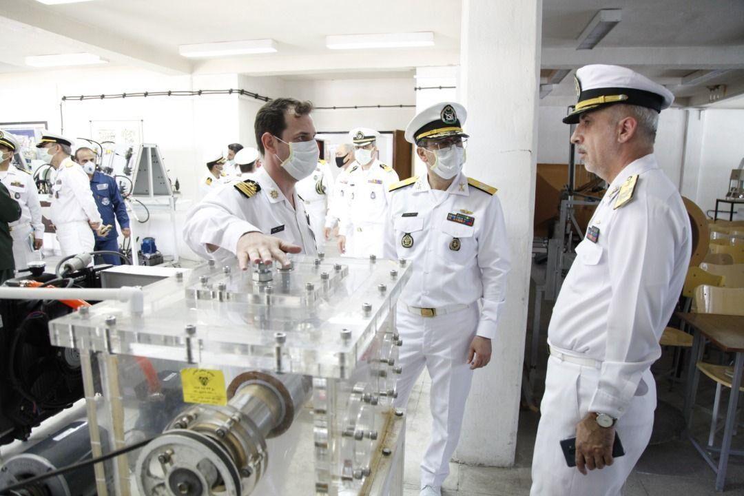 تیم ارزیابی ستاد کل نیروهای مسلح از دانشگاه علوم دریایی امام خمینی(ره) بازدید کرد