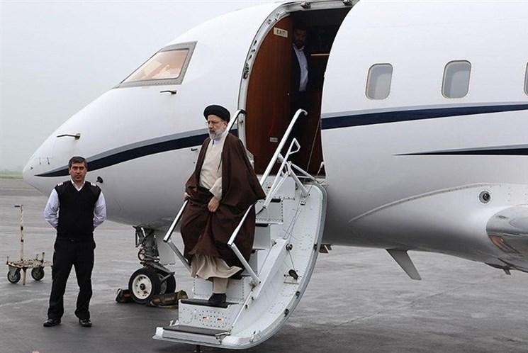 آیت الله رئیسی وارد شیراز شد