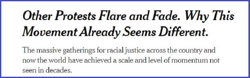 ///تداوم اعتراضات سراسری در آمریکا/ «فریاد» یکصدای مردم علیه نژادپرستی