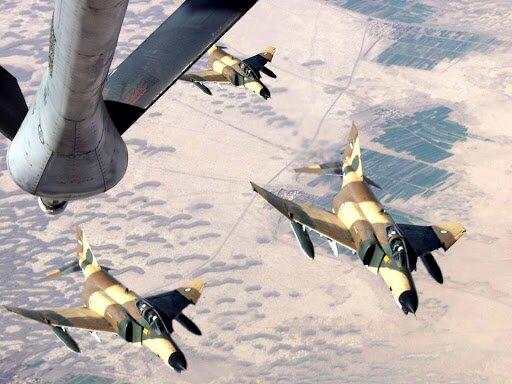 مأموریت ویژه دو خلبان ایرانی