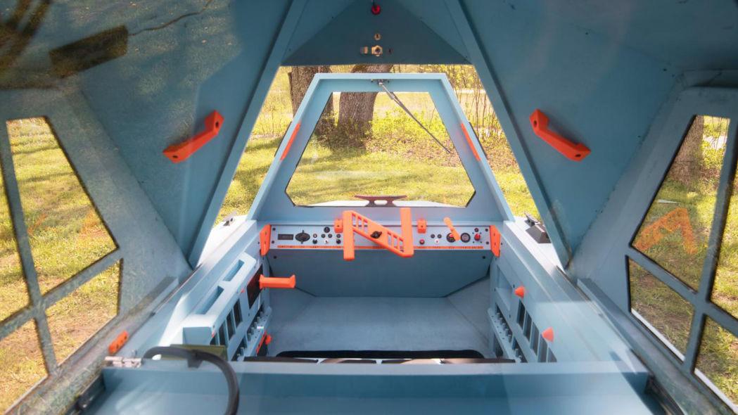 اختراع وسیله نقلیه دوزیست توسط شرکت زلتینی