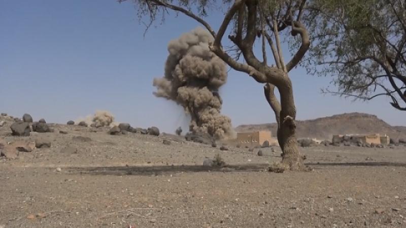 بیش از ۴۰ حمله هوایی دشمن سعودی به یمن در یک روز