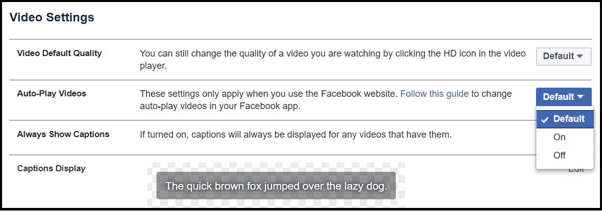 نحوه غیرفعال کردن پیشنمایش ویدئوها در شبکههای مجازی