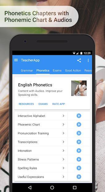 دانلود English Grammar & Phonetics 7.4.4 – تمرین گرامر و تلفظ انگلیسی