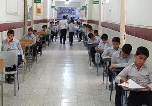 امتحانات دانشآموزان با رعایت پروتکلهای بهداشتی برگزار میشود