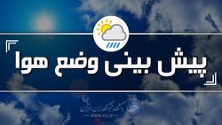 وزش باد و رگبار محلی پدیده غالب جوی در زنجان