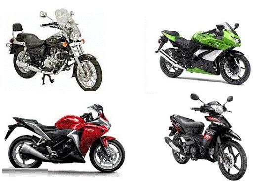 قیمت انواع موتورسیکلت در ۲ خرداد