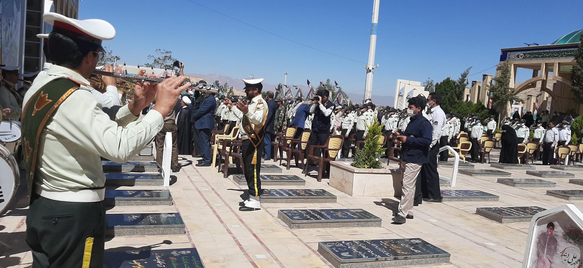 مراسم بزرگداشت سوم خرداد در گلزار شهدای کرمان