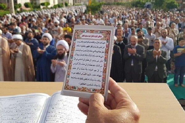 بررپایی نماز عیدفطر در مساجد محلات و فضای باز استان همدان