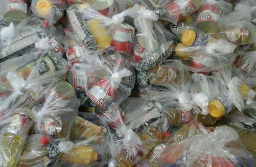 توزیع ۳۰۰ بسته غذایی در زرنق