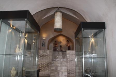 نمایش پیشینه مردمشناسی و تاریخی جاجرم در موزه گرمابه و تاریخ شهر