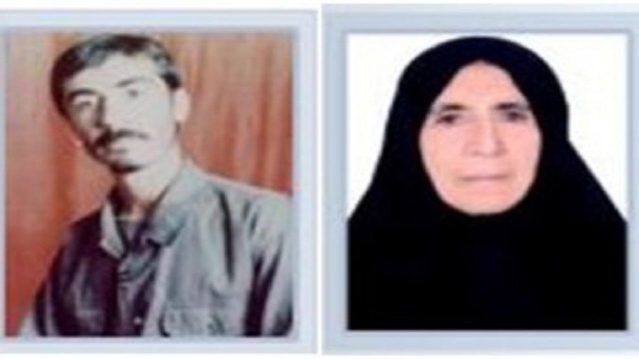 مادر شهید نورعلی احمدی به دیدار فرزندش شتافت