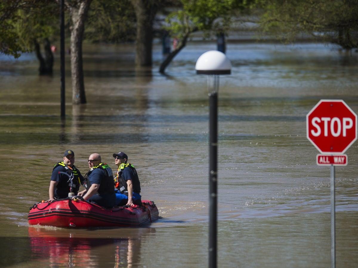 تخلیه بخشهایی از ایالت میشیگان در پی جاری شدن سیل