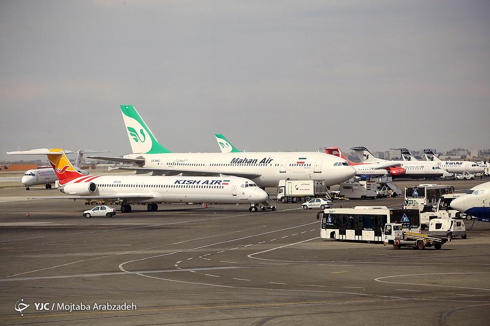اعلام تحریم هواپیمایی ماهان هیچ ارزشی برای ما ندارد/ تمامی محدودیت های پروازی به کیش برداشته شد