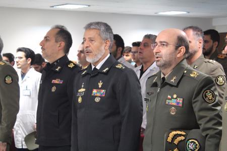 بازدید دریادار سیاری از دانشگاه افسری امام علی