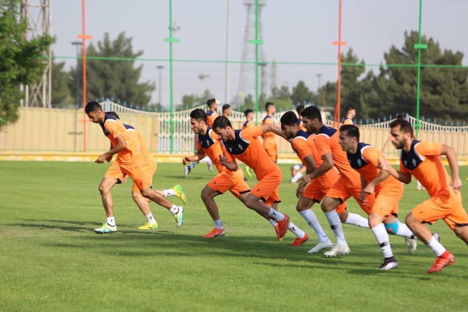 تمرینات تیم فوتبال سایپا برگزار شد