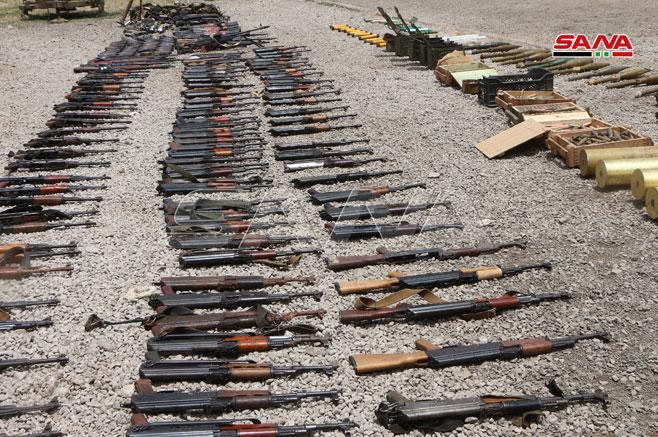 کشف سلاحهای غربی تروریستها در سوریه05