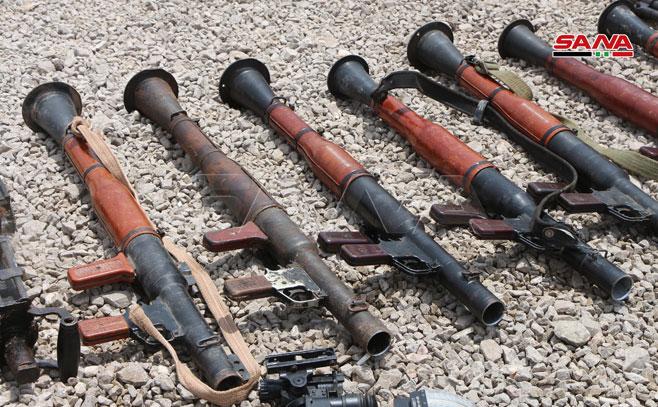 کشف سلاحهای غربی تروریستها در سوریه 02