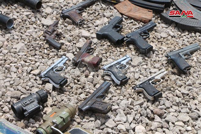 کشف سلاحهای غربی تروریستها در سوریه 01