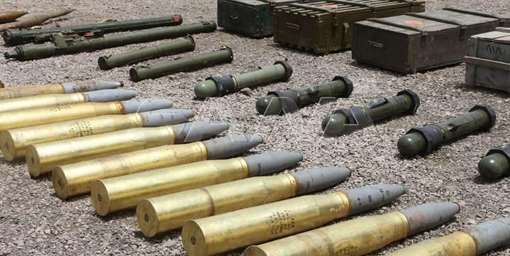 کشف سلاحهای غربی تروریستها در سوریه 06
