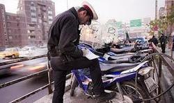 توقیف موتورسیکلت سنگین در کبودراهنگ
