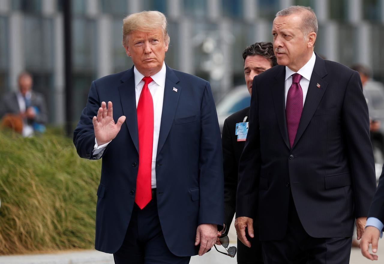 گفت وگوی تلفنی ترامپ و اردوغان درباره لیبی