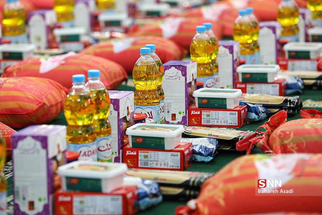 توزیع ۱۸ هزار بستههای غذایی در ملایر