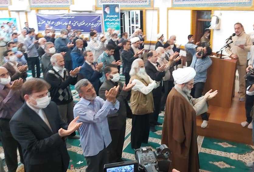 اقامه نماز عید سعید فطر در گیلان